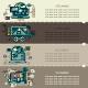 Set Twenty Three of Internet Technology Banners