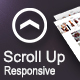 Scroll Top Button : For Responsive Websites