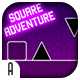 Square Adventure - HTML5 Game (CAPX)