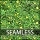 Yellow Flowers and Foliage Seamless Texture - 3DOcean Item for Sale