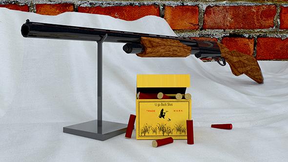 Hunting Shotgun - 3DOcean Item for Sale