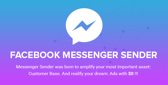 Facebook Messenger Sender