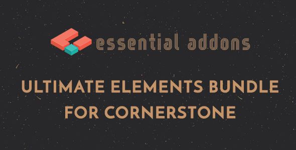 Essential Addons for Cornerstone