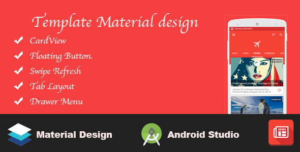 Template Material design (Templates) Download