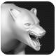 Bear Low & High Poly Base Mesh Bear