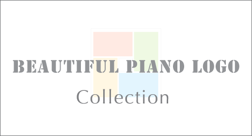 Beautiful Piano Logo Collection