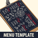 Italian Food Menu-Graphicriver中文最全的素材分享平台