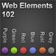 Web Elements 102 - Buttons, Nav Bar, Slider, Menu - GraphicRiver Item for Sale