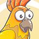 Drawn Cartoon Parrot
