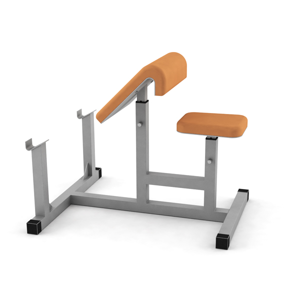 Fitness Bench - 3DOcean Item for Sale