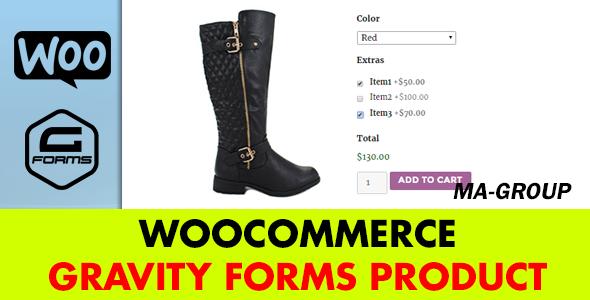 WooCommerce Gravity Types Item (Types)