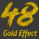 48 Gold Effect V01