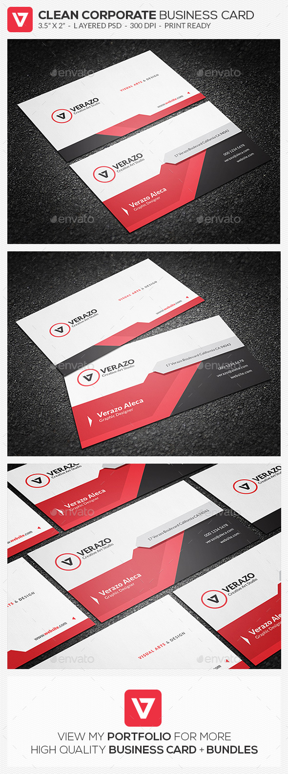 Money Back Graphics Designs Templates From GraphicRiver Page - Modern business card design templates