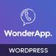 WonderApp - Multipurpose Responsive Landing Page in WordPress with 20+ Elements