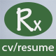 Rx-Resume Responsive Resume Template