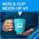 Mug & Cup Mock-up v1
