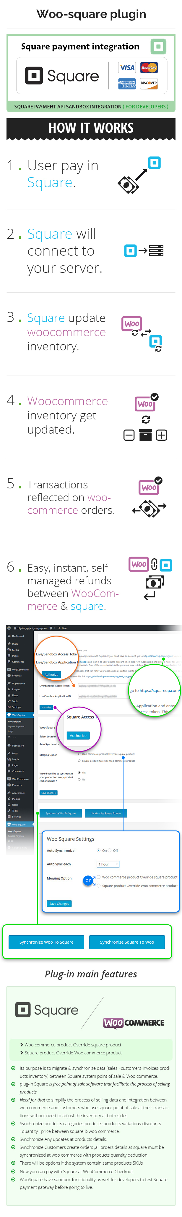 WooSquare Pro - WooCommerce Square Integration. 3