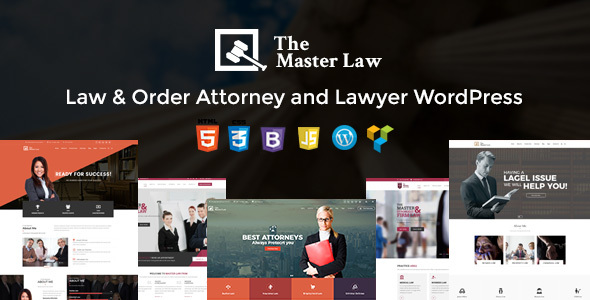 Download Master Law Agency And Lawyer WordPress Theme - Lawyer WP