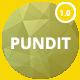 PUNDIT - Personal Portfolio Template