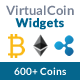 Virtual Coin Widgets - WordPress shortcodes for 600+ Coins
