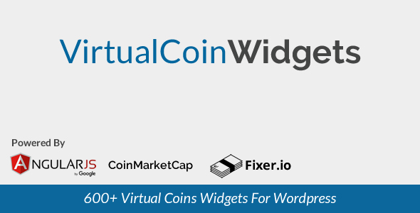 Virtual Coin Widgets – WordPress shortcodes for 600+ Coins (Miscellaneous)