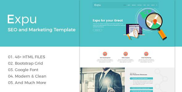 Themeforest Expu - Marketing & SEO Services Template 19353148
