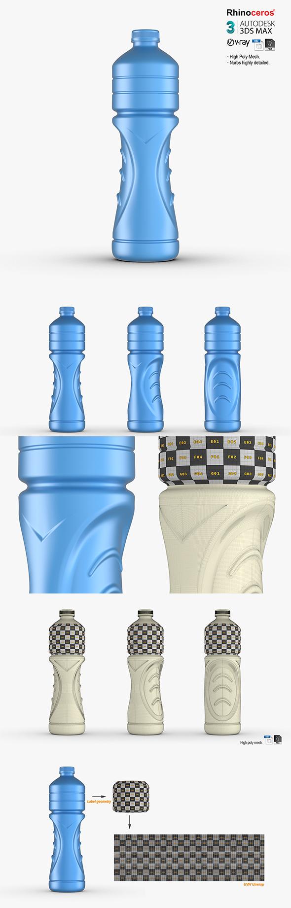 Powerade Bottle 1.5L - 3DOcean Item for Sale