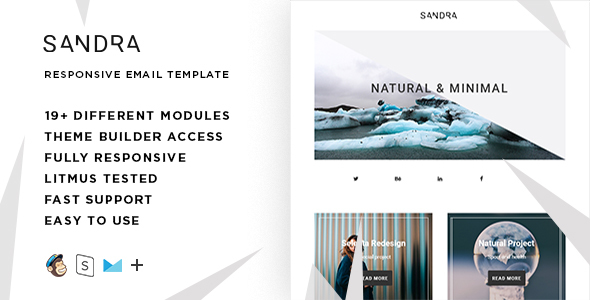 Image of Sandra – Responsive Email + StampReady Builder