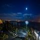 Los Angeles Long Beach Time Lapse night