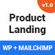One - WordPress Product Landing Page