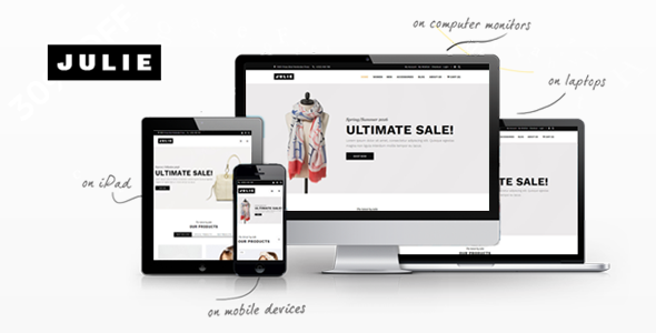 Julie - Prestashop Fashion Theme