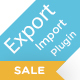Woo Product/Order/Customer/Coupon Export Import