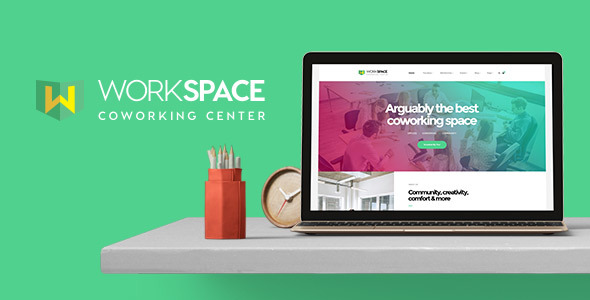 Workspace – Inventive Workplace Space WordPress Theme (Small business)