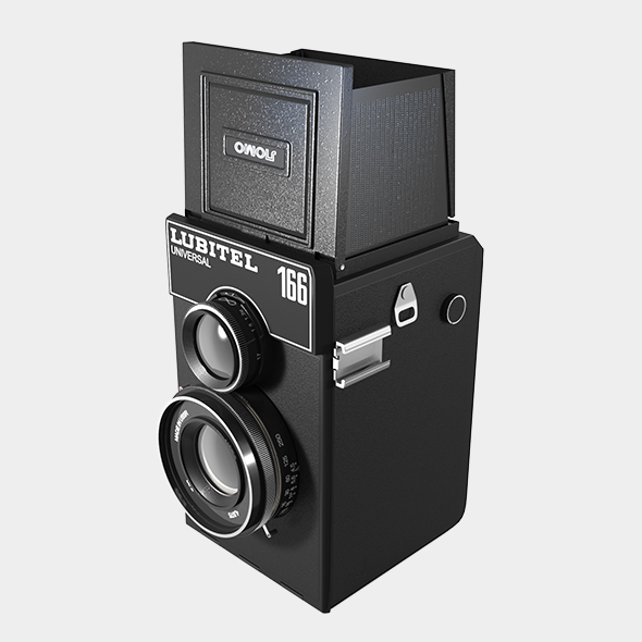 3DOcean Lubitel Photo Camera 19356758