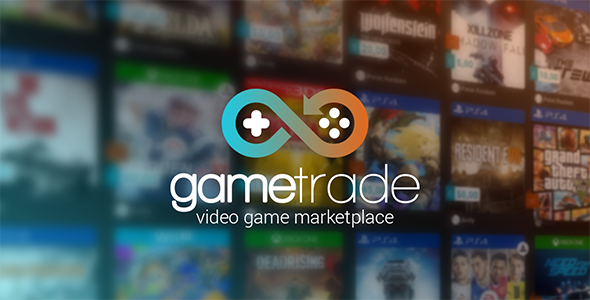 GameTrade - Video Game Marketplace