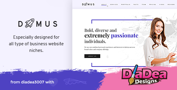 Domus - Creative Business & Corporate PSD Template