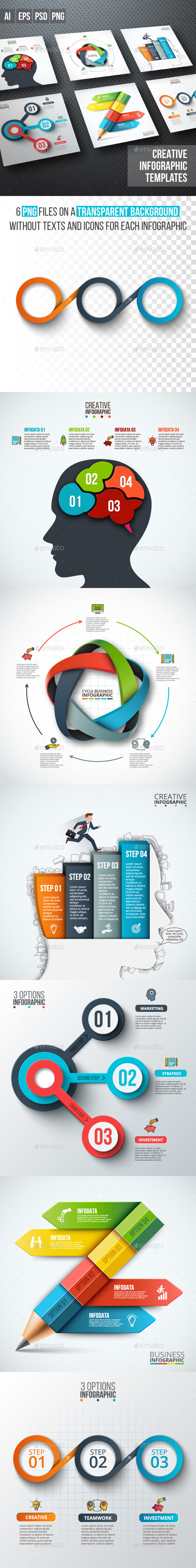 Business infographic diagrams v.11