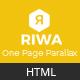 Riwa - One Page Parallax