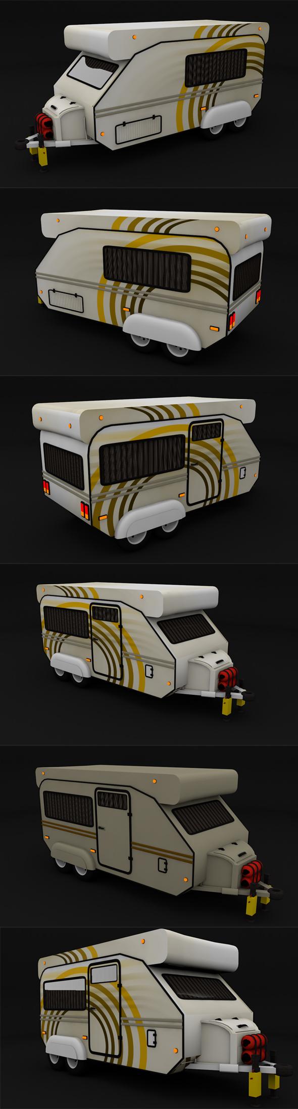 Caravan - 3DOcean Item for Sale