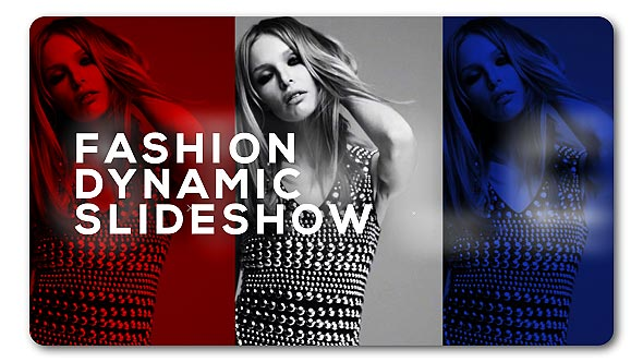 Slideshow Fashion Dynamic (Abstract) After Effects Templates