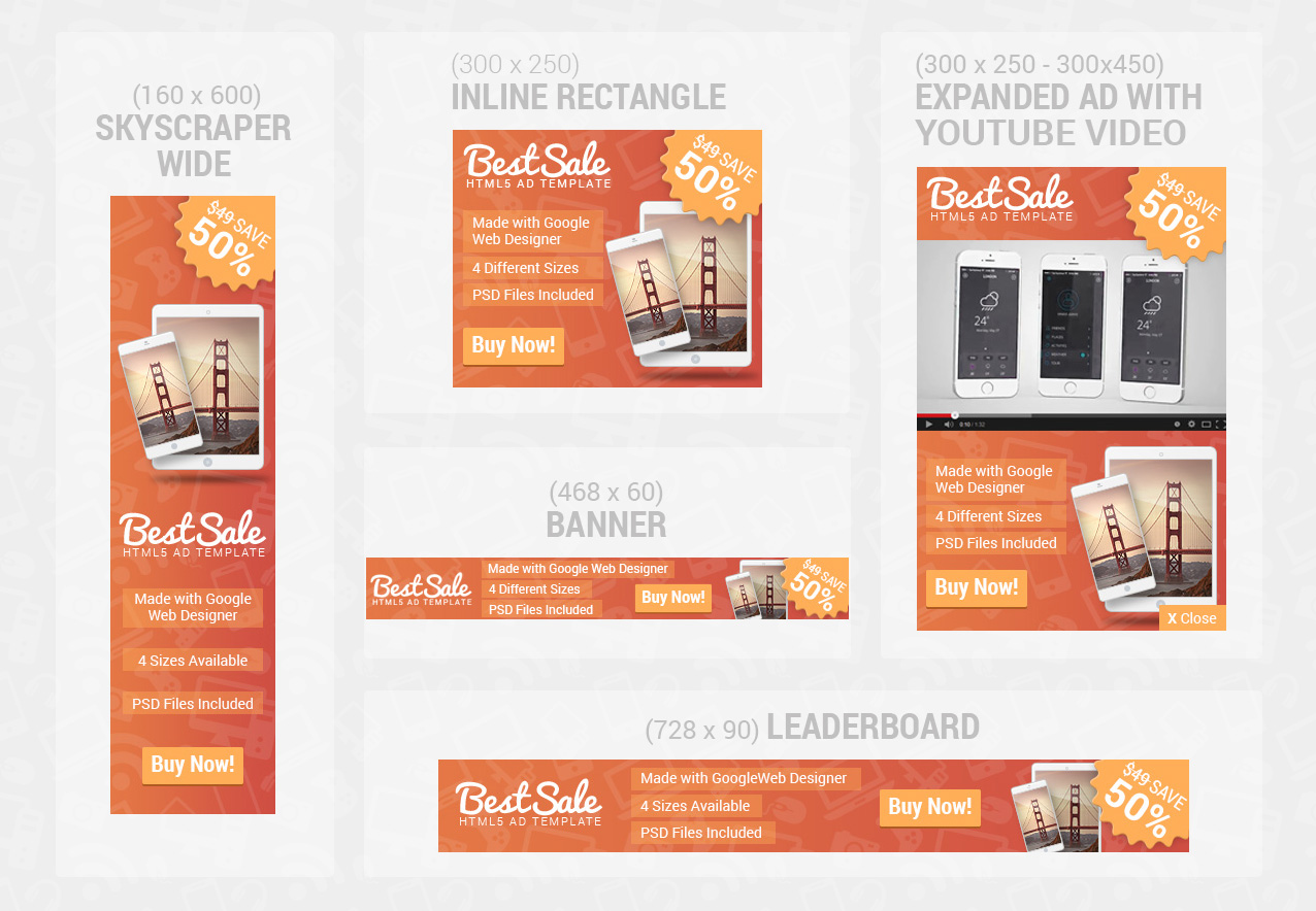 on html ad template bundle by wiselythemes codecanyon on html5 ad template bundle