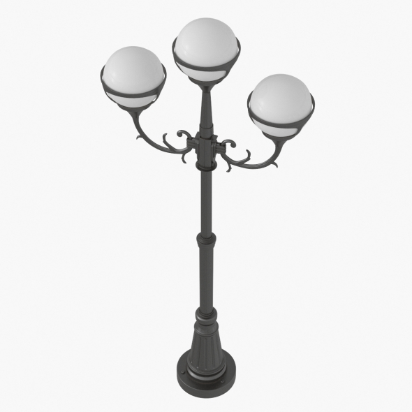Street Light Lamp Post - 3DOcean Item for Sale