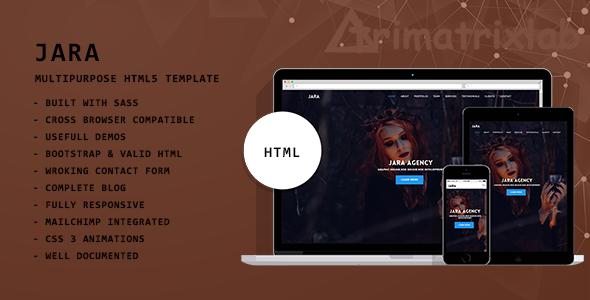 JARA | Multipurpose HTML5 Template