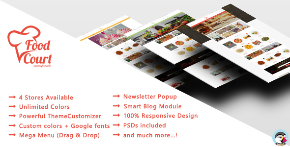 Food Shop - Responsive Prestashop Theme