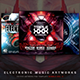 Electronic Music Artworks CD/DVD Template Bundle Vol. 2