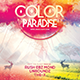 Color Paradise Flyer Template
