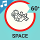 Space Icons And Elements