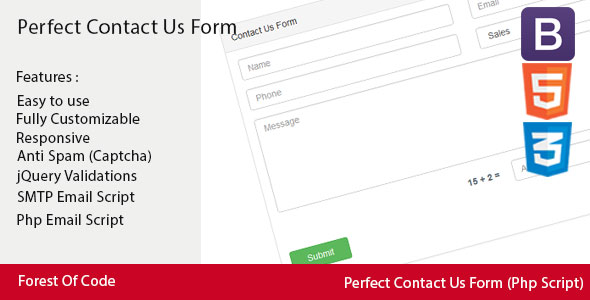 Download Perfect Contact Us Form