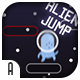 Alien Jump - HTML5 Game (CAPX)