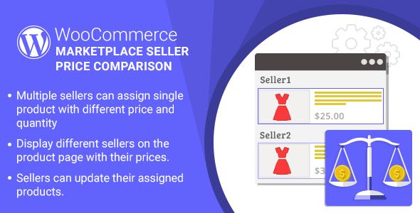 WordPress WooCommerce Marketplace Seller Price tag Comparison Plugin (WooCommerce)